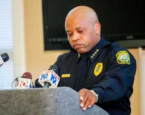 Former Police Chief Randy Scott resigned in tears.  (photo credit:  thestate.com)